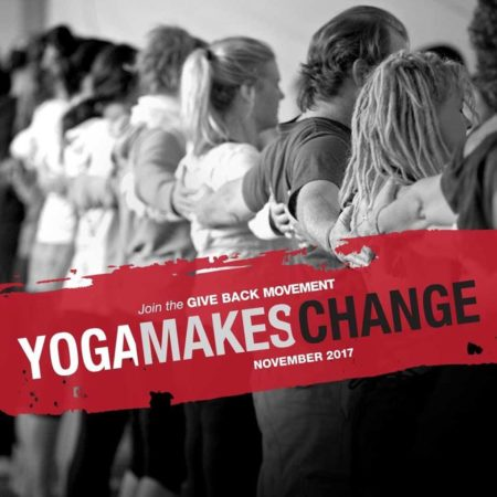 Yoga Makes Change 2017