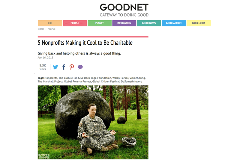 5 Nonprofits Making it Cool to Be Charitable | Goodnet