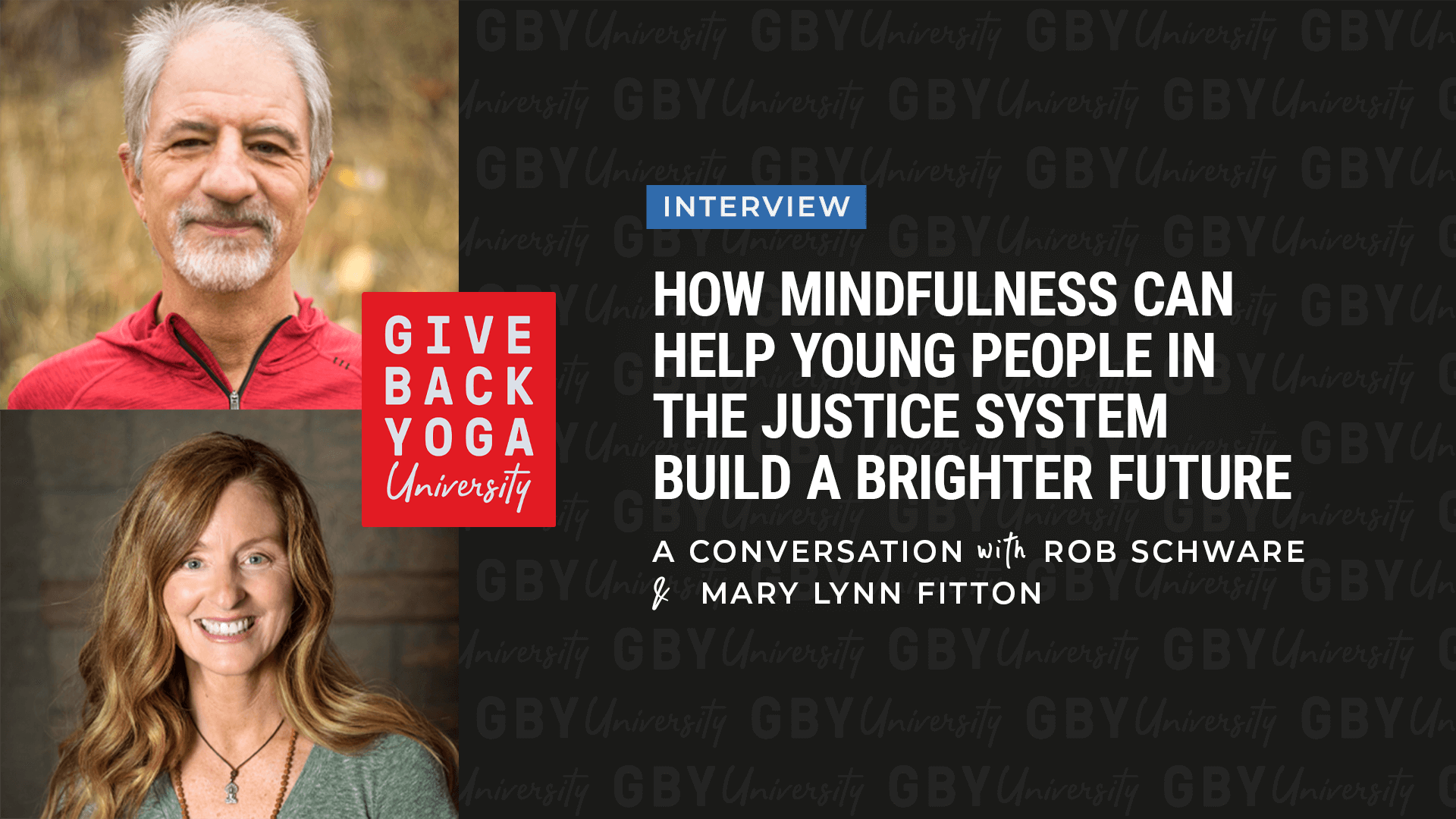 How Mindfulness Can Help Young People in the Justice System Build a Brighter Future